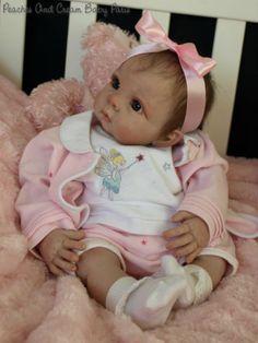 """Nouveau bébé reborn poupée Kit Chrissy Par Elly Knoops @ 20"""" @with Cloth corps"""