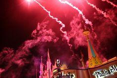 New Year's Eve Fireworks in the Magic Kingdom.