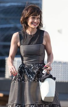 Carla Gugino is seen as she heading to 'Jimmy Kimmel Live' in LA http://celebs-life.com/carla-gugino-seen-heading-jimmy-kimmel-live-la/  #carlagugino