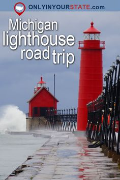 Travel | Michigan | Attractions | USA | Road Trip | Places To Visit | Bucket List | Things To Do | Lighthouses | Manmade Beauty | Beautiful Places | Adventure | Day Trips | Weekend Getaway | Great Lakes State | Lake Michigan | Parks | Outdoor | Explore | Waterfront | Lighthouse Road Trip