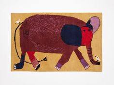 node   hand-knotted fair trade rugs   Beatrice Alemagna