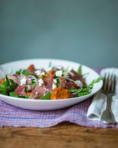 Sweet Paul's Roasted Apricots with Prosciutto & Goat Cheese