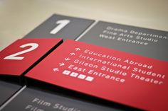 arrow confusion..      Old Science Hall - EGD by Matt Magill, via Behance