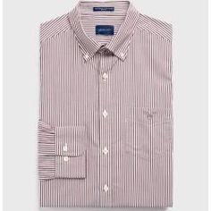 Gant Regular Broadcloth Banker Hemd (Rot) GantGant - designer dresses -  Gant Regular Broadcloth Banker Hemd (Rot) GantGant  -