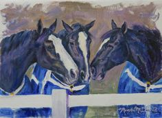 From a series of original paintings. Clydesdale Horses, Friesian, Draft Horses, Equine Art, Horse Art, Painting & Drawing, Original Paintings, Artsy, The Incredibles