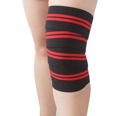 cc2711fd88 AOLIKES Weightlifting Elastic Bandage Knee Leg Straps Training Support Wraps  Sport Belt Bands Guard Protector-in Elbow & Knee Pads from Sports ...
