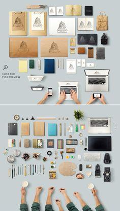 Art Equipments Scene Generator V3 - Product Mockups - 2