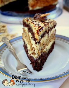 "Tort delicios ""Halva"" – un desert deosebit de savuros! Polish Desserts, Polish Recipes, Easy Cake Recipes, Sweet Recipes, Dessert Recipes, Sweets Cake, Cupcake Cakes, Torta Recipe, Russian Cakes"