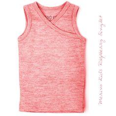 Merino Kids Raspberry Singlet Organic Cotton, Raspberry, Athletic Tank Tops, Kids Fashion, Range, Classic, Women, Style, Derby