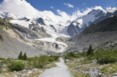 Trail to Morteratsch Glacier, Switzerland jigsaw puzzle in Great Sightings puzzles on TheJigsawPuzzles.com