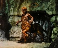 The cyclops/centaur - Ray Harryhausen - The Golden Voyage Of Sinbad Fantasy Movies, Sci Fi Movies, Sci Fi Fantasy, Horror Movies, Cult Movies, Horror Art, Cool Monsters, Famous Monsters, Classic Monsters
