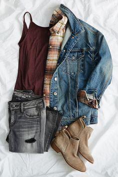 Grey daze. Shop the grey denim trend now on AE.com.