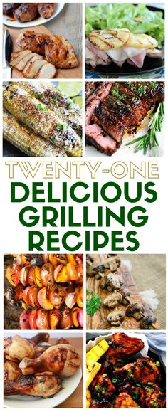 Get grilling and cook dinner out on the BBQ! A collection of delicious grilling recipes for entertaining at the neighborhood picnic or simply family dinner recipes. Healthy Grilling Recipes, Grilled Steak Recipes, Grilling Ideas, Healthy Food, Bbq Ideas, Grilled Veggies, Cook Dinner, Dinner Table, Looks Yummy
