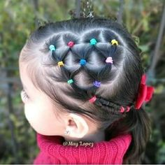Cute Short Haircuts For Little Girls Little Girl Short Hairstyles, Cute Toddler Hairstyles, Cute Little Girl Hairstyles, Baby Girl Hairstyles, Cool Hairstyles, Plait Hairstyles, Short Haircuts, Toddler Hair Dos, Afro Chic