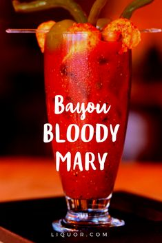 Bayou Bloody Mary - Vodka Cocktail