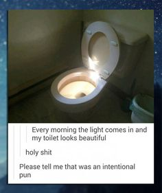 The Holy Toilet