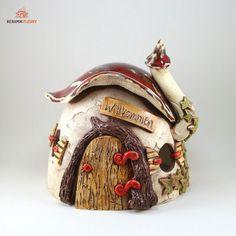 keramik windlicht wichtelhaus kreativwerkstatt fleury ceramica pinterest. Black Bedroom Furniture Sets. Home Design Ideas