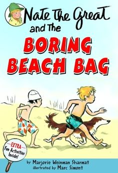 Nate The Great And The Boring Beach Bag (Turtleback School & Library Binding Edition) (Nate the Great Detective Stories by Marjorie Weinman Sharmat (Author), Marc Simont (Illustrator) Nate The Great, Mystery Genre, Summer Reading Program, Chapter Books, Used Books, Book Recommendations, Book Lists, The Book, Fun Activities