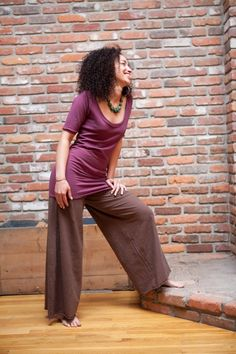 Higher Guidance Top Hemp and Organic Cotton by BlessedLotus, $62.00