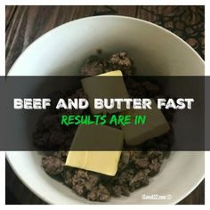 I tracked myself doing a Keto Beef and Butter Fast Experiment and I am BLOWN away! I've added every thing I did for each day! Results included!