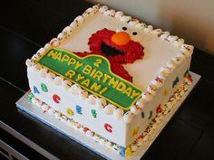 Elmo Birthday Cake by Sweet Dolly, via Flickr