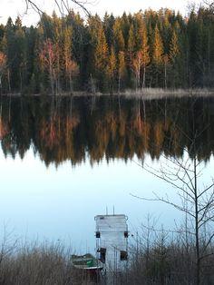 SOYZ-blog: Destination #Sweden . House at the lake