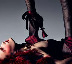 Wild Rockitorials: Craig McDean's 'Gimme More' for Interview Exemplifies Fashion