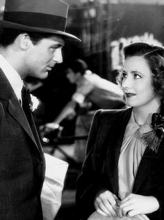 Cary Grant and Irene Dunne from maybe Penny Serenade. That was their only drama together.