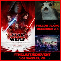 Enter to win a #StarWars prize pack, and let me know what you would ask the cast and creators of #TheLastJedi. I'll be interviewing them tomorrow, December 3, during #TheLastJediEvent