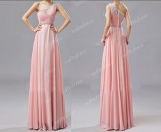 one shoulder prom dress blush pink prom dresses by sofitdress, $136.00
