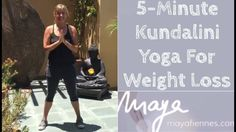 5 Minute Kundalini Style Yoga For Weight Loss With Maya Fiennes Mond Weight Loss Routine, Yoga For Weight Loss, Weight Loss Challenge, Kundalini Yoga Poses, Ashtanga Yoga, Yoga Strap, Sport Inspiration, Yoga Benefits, Yoga Retreat