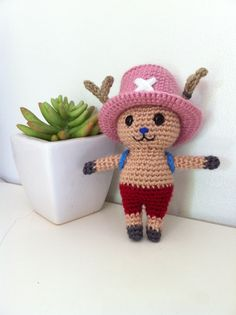 One Piece Chopper amigurumi