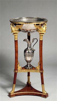"""Arts décoratifs Premier Empire - Martin-Guillaume Biennais : """"Athénienne de Napoléon 1er"""". Provenance : chambre de Napoléon 1er au palais des Tuileries (1800-04 – Louvre)."""