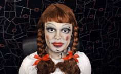 Annabelle Doll - The Conjuring - Makeup Tutorial!   ReadyCart.  This pin includes all of the products you will need in order to get this look!
