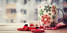 Hot Coffee cup on a frosty winter day window background with candy canes holidays Winter cozy background , Merry Christmas, Christmas Cookies, Christmas Time, White Christmas, Hot Coffee, Coffee Cups, Best Time To Post, Christmas Wallpaper, Favorite Holiday