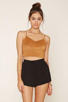 Lace-Up Shorts