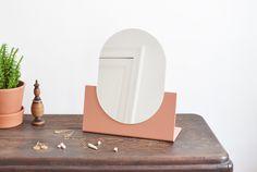 minimal dome mirror by beaverhausen for hausmerk