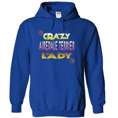 AIREDALE TERRIER - #diy gift #groomsmen gift. LIMITED AVAILABILITY => https://www.sunfrog.com/Pets/AIREDALE-TERRIER-3584-RoyalBlue-15872217-Hoodie.html?68278
