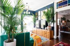 We moved into our New Orleans home three years ago and it's been a really awesome creative journey ever since. I've learned a lot about my style through decorating this home. Here is a tour of our crazy, colorful New Orleans home! New Orleans Decor, New Orleans Homes, Interior Styling, Interior Decorating, Interior Design, Interior Ideas, Wit And Delight, Gravity Home, Next At Home