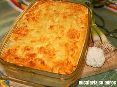 Sufleu de conopida - Bucataria cu noroc Macaroni And Cheese, Anna, Ethnic Recipes, Food, Kitchen, Pie, Mac Cheese, Mac And Cheese, Meal