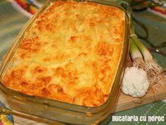 Sufleu de conopida - Bucataria cu noroc Noroc, Macaroni And Cheese, Anna, Ethnic Recipes, Cooking, Pie, Mac And Cheese