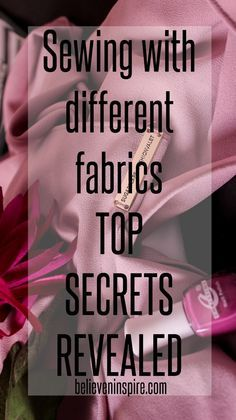 Sewing with different fabric - TOP SECRETS REVEALEDSo how do you decide what kind of fabric to use for a particular dress and what sort of needles and threads would be required for each? Craftsy offers an online class to solve this problem and in this post I share the class review. Read now for details.