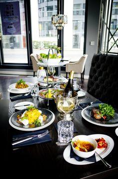 Séparées Restaurant, 20s Fashion, Snacks, Burger, Pizza, Food, Lunch Bags, Fish Dishes, Easy Meals