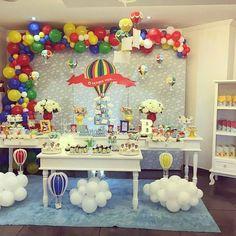 Festa balão - o tempo voa