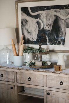 How To Style A Buffet Table Farmhouse BuffetFarmhouse IdeasFarmhouse DecorFrench