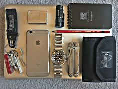 I have been refining my EDC for a couple of years now and am at the point where it's been refined a fair bit. I find these items work for me as they have the right balance of durability, flexibility and coherence as a collection.