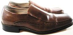 Stacy Adams Men Loafer Shoes Size 12 M Brown Style 24363221.  RRR 58 #StacyAdams #LoafersSlipOns