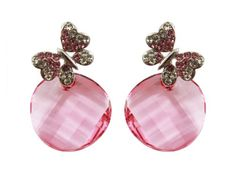Bijoux De Ja Rodium Plated Base Pink Round Crystallized Swarovski Elements Butterfly Drop Earrings Bijoux De Ja http://www.amazon.com/dp/B00CQVQHPS/ref=cm_sw_r_pi_dp_JwV-vb0J25R51