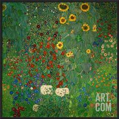 1905-07 Print 37 x 37 iCanvasART Flower Garden