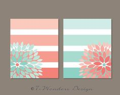 Simple to make with painted lines and scrapbook paper.